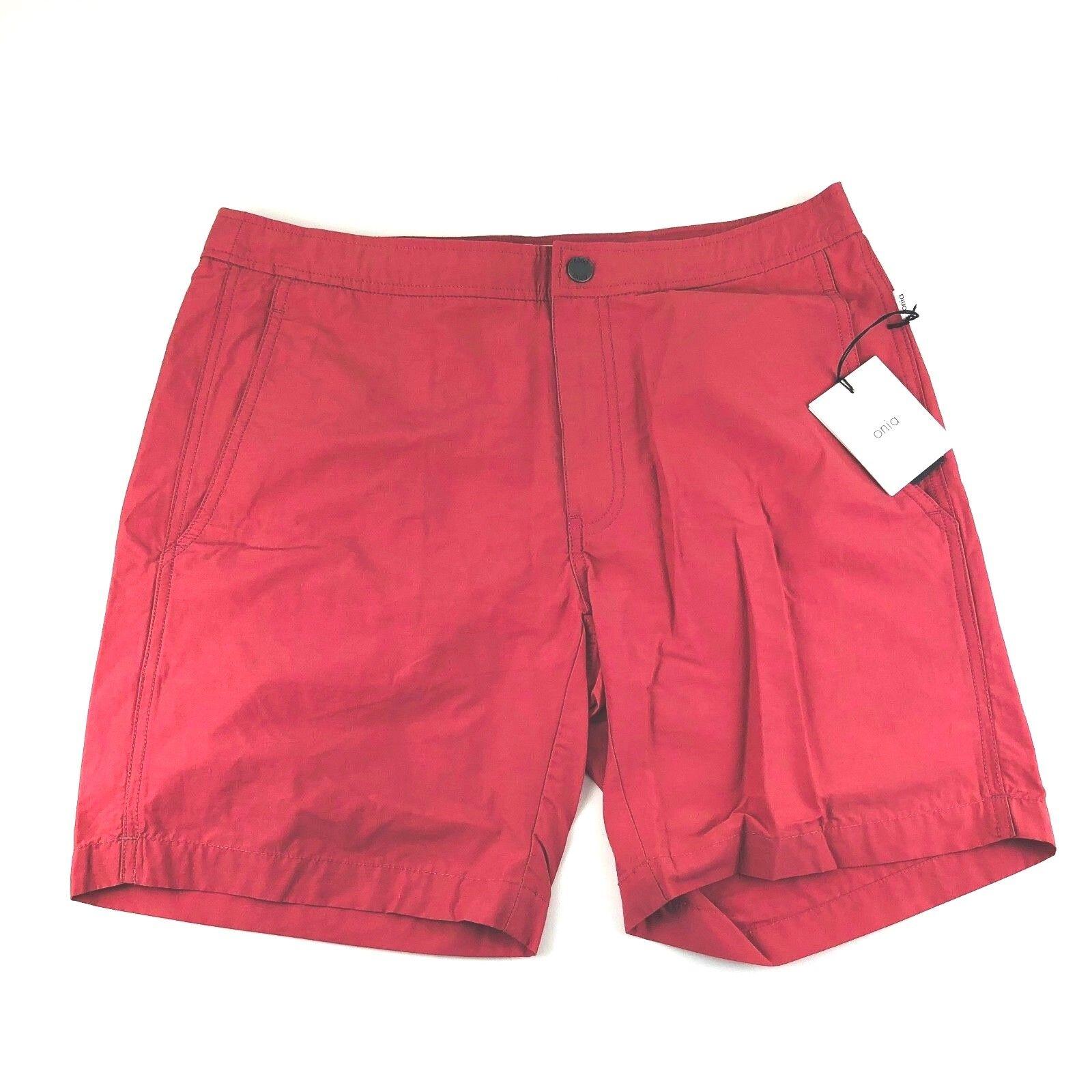 a7d9a20940 Onia Calder Terracotta Swim Trunks 7.5 Inch Shorts Mens Size 32 36 38 NWT