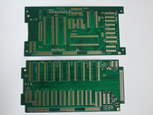 pod bare pcbs Fluke 9010a 6502//6800 set of 2 gold plated boards reproduction