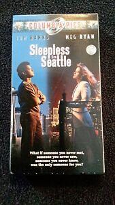 Sleepless In Seattle 1993 Vhs Tom Hanks Meg Ryan Ebay