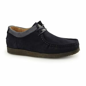 1dd98c9d3e82c Image is loading Hush-Puppies-DAVENPORT-LOW-Mens-Suede-Cushioned-Moccasin-