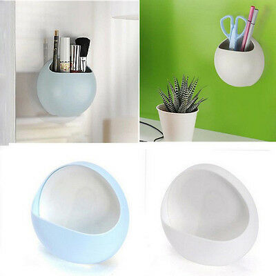 Popular Wall Suction Soap Cups Toothpaste Holder Kitchen Bathroom Organizer