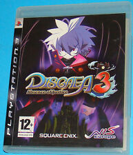 Disgaea 3 - Sony Playstation 3 PS3 - PAL