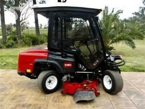 Toro Groundsmaster 360 all wheel steer with mower and sweeper Alberta Preview