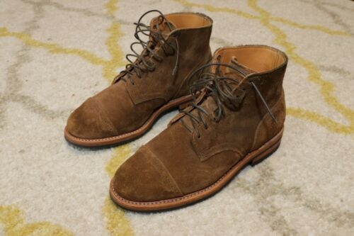 Viberg Service Boot Snuff Suede Size 6