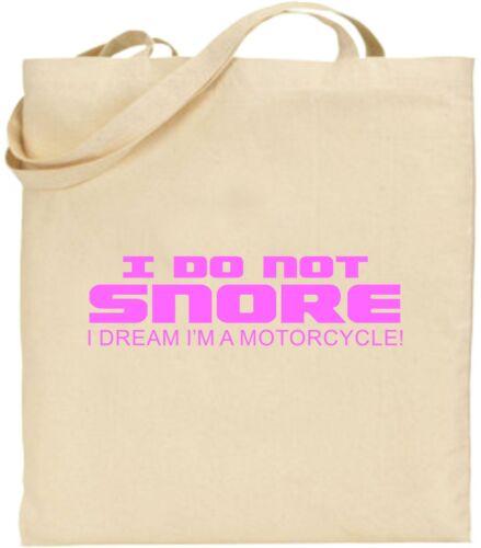 Drôle Sac Pas Rêve Fourre Moto A Shopping tout Snore Paresseux I Ne I'm Coton aqUBv0xw1