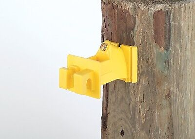 Wood Post 2 Inch Offset Insulator For Poly Wire Braid