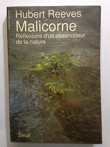 MALICORNE-1990-HUBERT-REEVES-REFLEXIONS-D-039-UN-OBSERVATEUR-DE-LA-NATURE