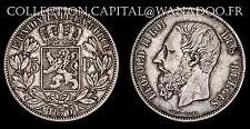 Belgique / 5 francs 1870 / Léopold II / Argent
