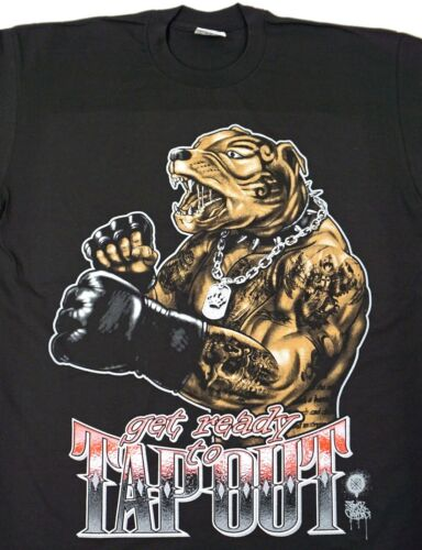 PITBULL T-shirt MMA Cage Fighting Boxing Wrestling Grappling Men/'s Tee New