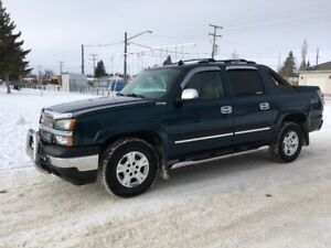 2006 Chevy Avalanche LS Z71 less than 150,000 km