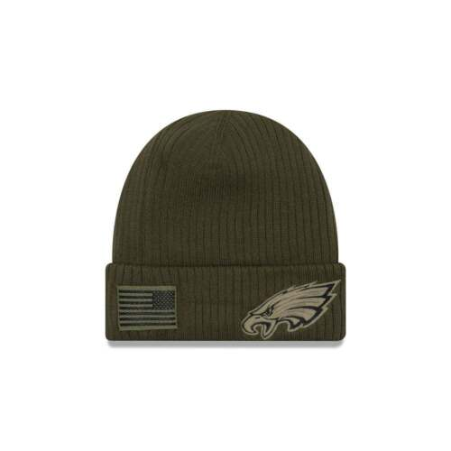 New Era NFL Philadelphia Eagles 2018 Salute to Service Sideline Knit