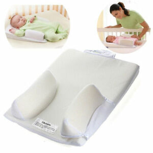 Baby Newborn Infant Anti Roll Pillow Sleep Positioner