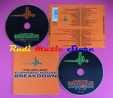 CD The Very Best Euphoric House Breakdown compilation JayDee no mc dvd vhs(C34)