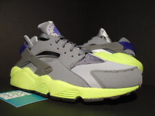 low cost 6ed19 b77f7 2014 NIKE AIR HUARACHE WOLF GREY COOL VOLT CONCORD RUN NEON 318429-004 NEW  10