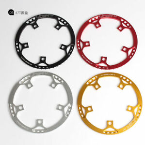 litepro-Folding-Road-Bike-Chainring-Chain-Ring-BCD-130mm-45-47-53-56-58T-w-Guard