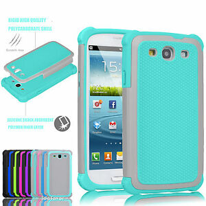 Hybrid-Rugged-Rubber-Shockproof-Hard-Cover-Case-Skin-For-Samsung-Galaxy-S3-i9300
