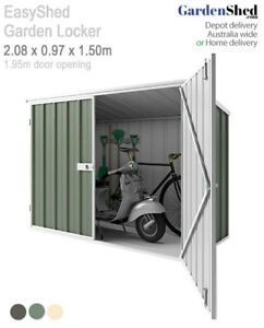 Details about Locker Shed 2 08 x 0 97 x 1 5m high – Skillion