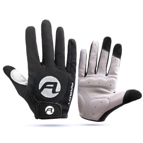 Pair Of Men Women Cycling MTB Road Bike Full Finger Anti-skid Sports Gloves Warm