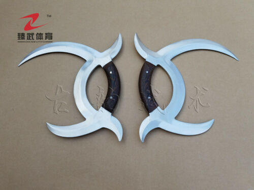 Chicken Wing Wood Handle Modern Chinese Weapon Mandarin Duck .