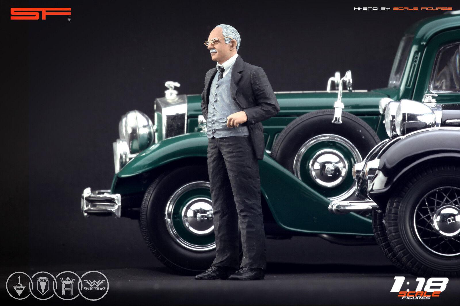 de agosto Horch (Audi fundador) Muy Raro Pintado, sin auto