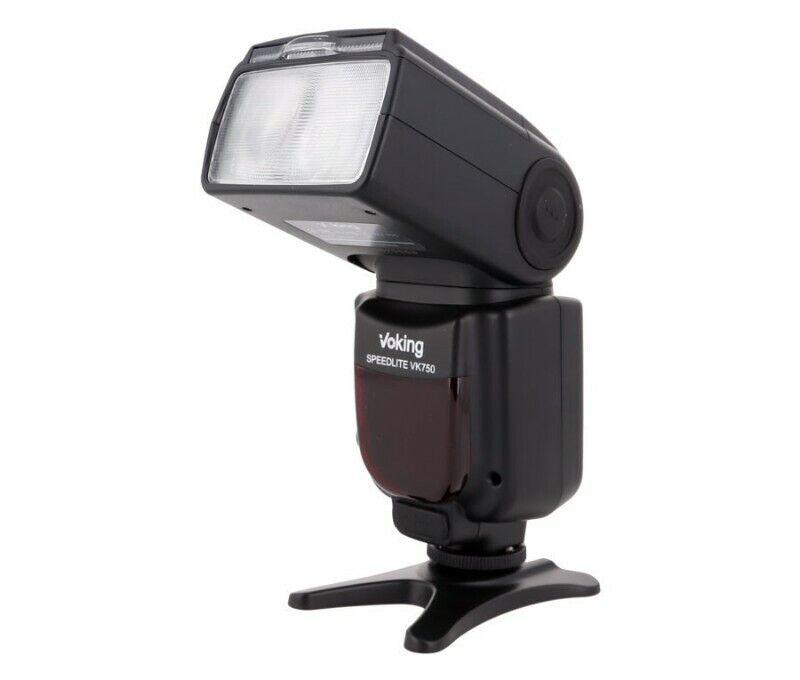 Voking VK750 Manual Universal Flash Speedlite for all DLSR cameras. Brand new.