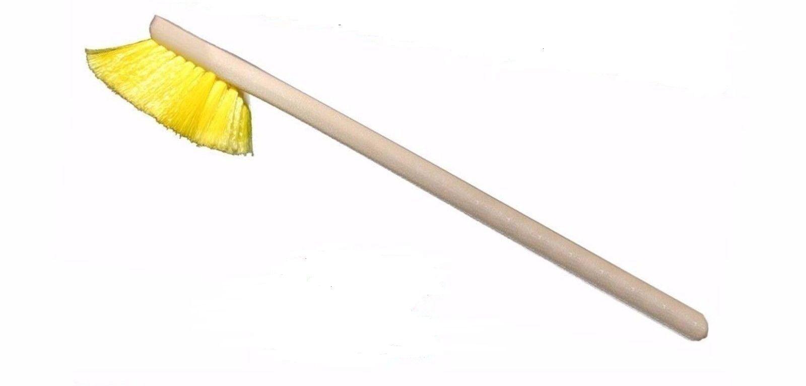 20 Quot Yellow Stiff Bristle Fender Brush Freightliner
