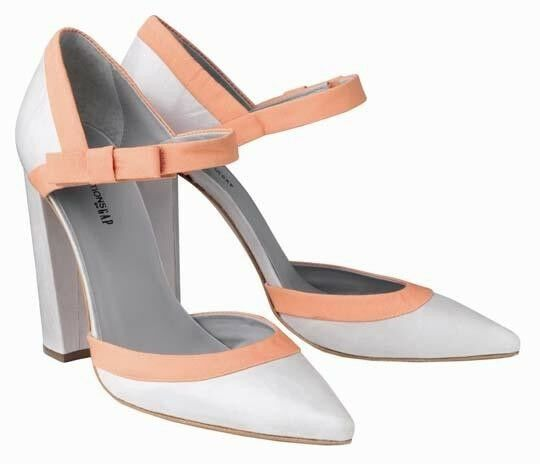 Pierre Hardy for Gap Classy Leather Heels NEW $150+Free shipping 7M,8M,10M