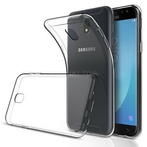 buy online 30572 ba684 Details about Transparent Clear Silicone Slim Gel Case For Samsung Galaxy  J5 (2017)