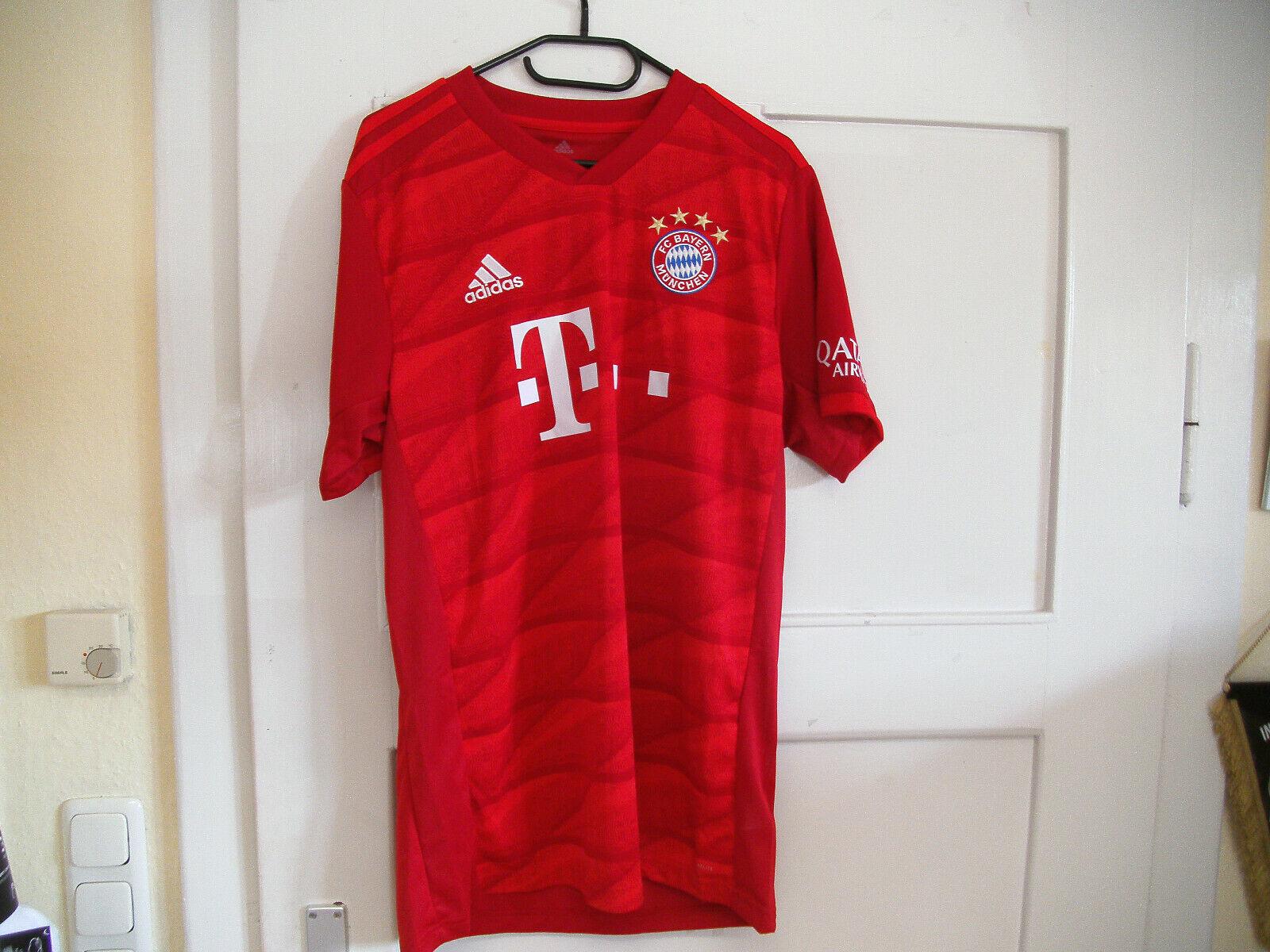 Adidas Home Trikot FC Bayern München  2019 2020 Rot-Weiss   Gr. 128 - 2XL