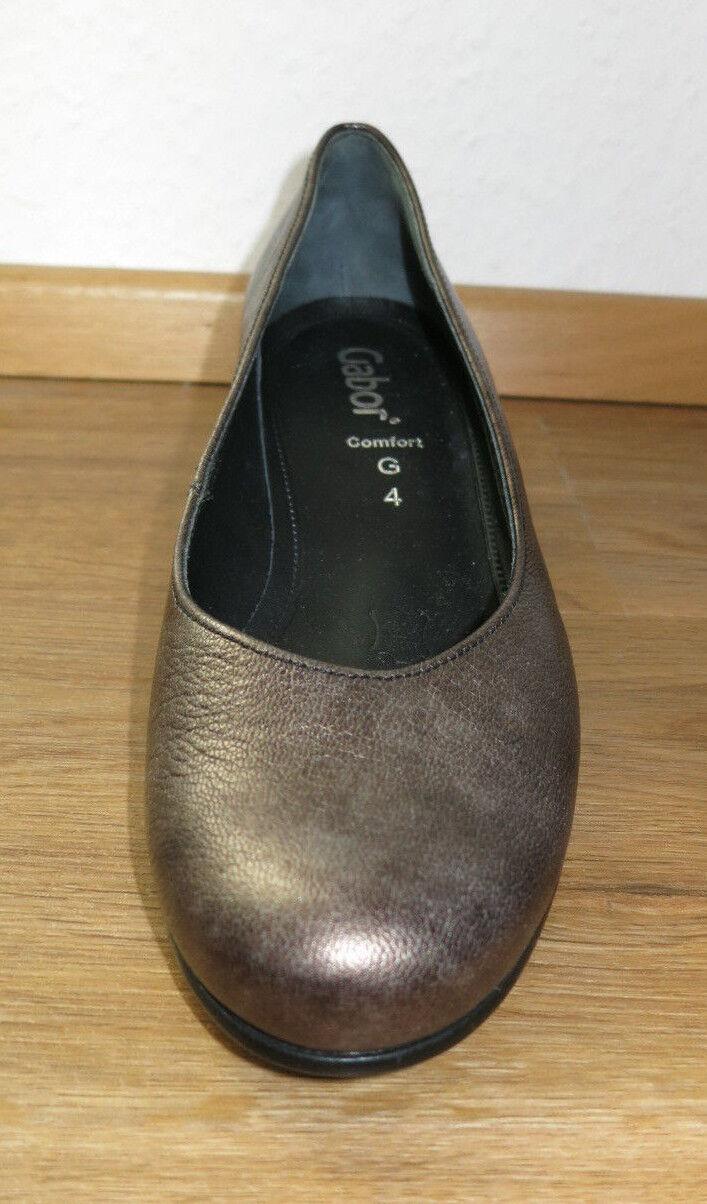 Los zapatos más populares para hombres y mujeres Gabor señora pumps Comfort g 4 zapato de cuero marrón eur37, 5