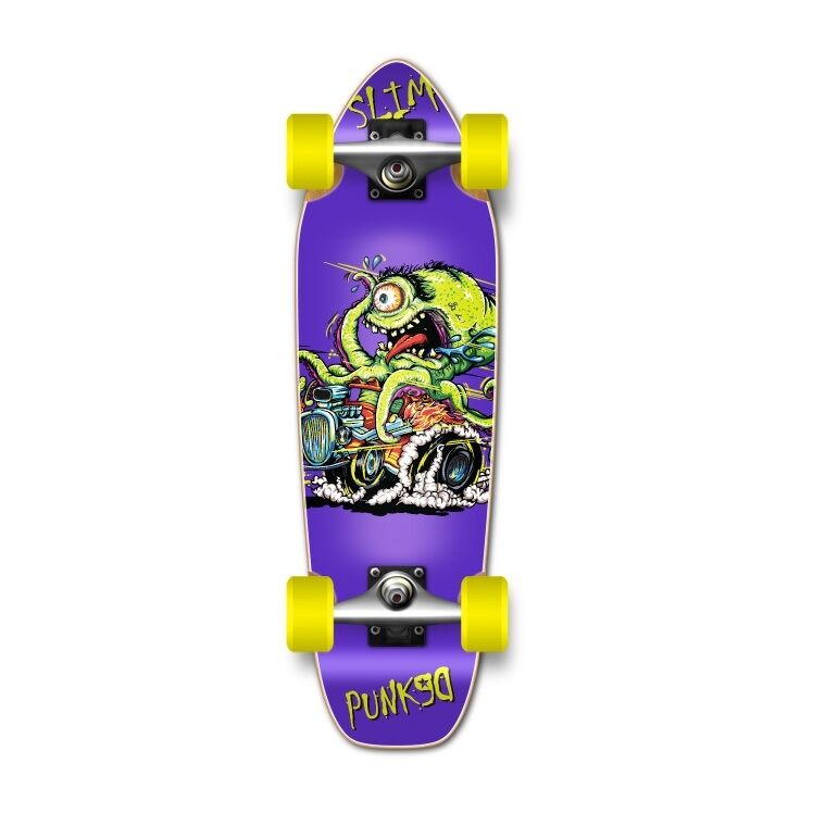 Yocaher Mini Cruiser Hot Rod  Slim Complete  new products novelty items