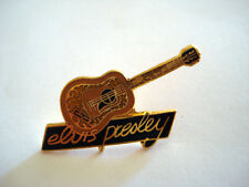 PINS RARE THE KING ELVIS PRESLEY GUITARE GUITAR