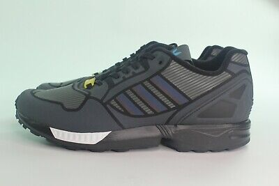 ADIDAS ZX FLUX B54177 MEN SIZE: 10.5 RUNNING NEW CORE BLACK REFLECTIVE COMFORT | eBay