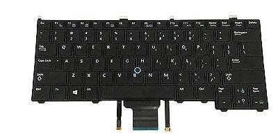 Lot of 5 Dell Latitude E6420 E5420 E6430 E5430 E6330 US Keyboard 8G016 08G016
