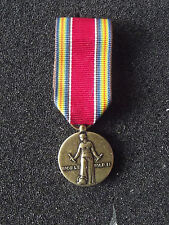 (A19-068) US Orden WWII Victory Medal  Miniaturorden US System