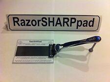 Razor Blade Cartridge Sharpener RazorSHARPpad Triples Blade Life & Saves Money