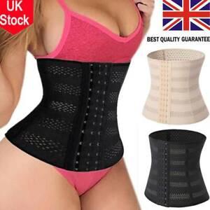 UK Short Torso Waist Trainer Corset Cincher Body Shaper Belt for Women Workout