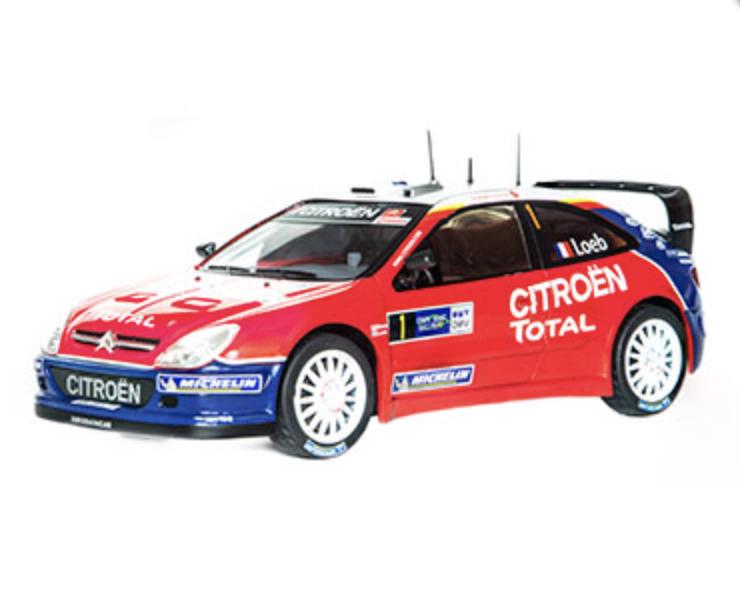 CITROEN XSARA WRC 2005 S. LOEB RALLYE D'ALLEMAGNE  ALTAYA 1 18 NEUF