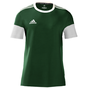 Details about Adidas Men's mi Squadra 17 Short Sleeve Soccer Jersey Green White