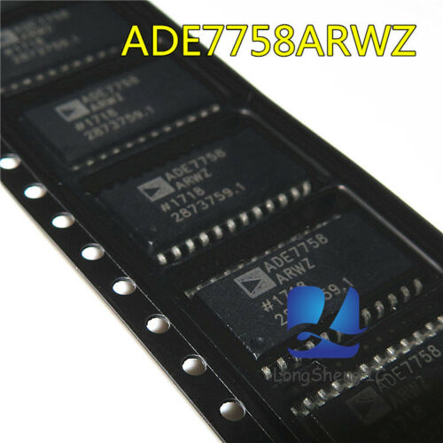 1PCS ADE7758ARWZ ADE7758 Multifunction Energy Metering IC CHIP SOP-24 new