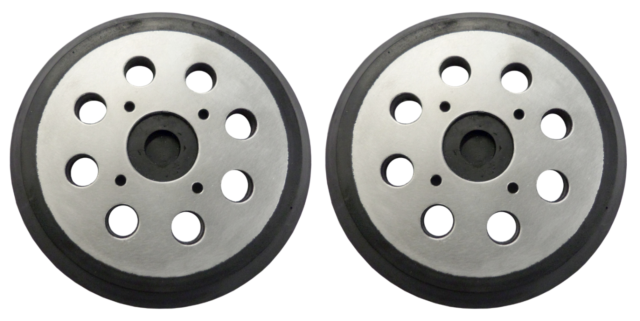 """2-PACK Rigid R2600 Backing Pad for Sander Replacement 5/"""" Inch with Hook and Loop"""