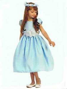 Chic-Baby-Light-Blue-White-Tea-Length-Pageant-Party-Holiday-Dress-2-4-6-USA
