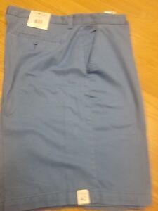 938ef2deec SUN RIVER Men's COOL Cotton Twill BLUE Walking SHORTS Ret. $40 New ...
