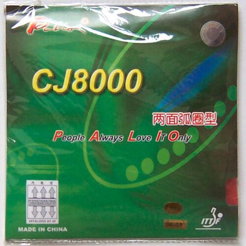 Melbourne Palio CJ8000 TENSION 2-Side Loop Type Rubber//Sponge pips-in 36-38°