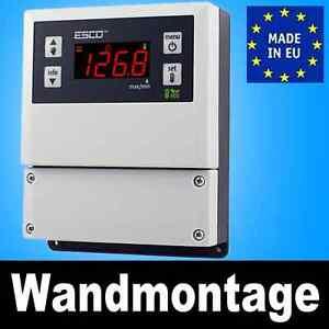 TEMPERATURREGLER TEMPERATURCONTROLLER mit Alarm 230V/12V/24V -50°C ...