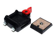 Velbon Stativadapter mit Wechselplatte für 1/4 Zoll Stativ (gebraucht)