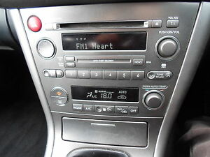 2005-SUBARU-LEGACY-RADIO-CD-PLAYER-SILVER-FASCIA-WITH-HEATER-CONTROLS