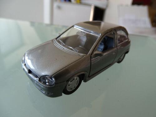 Gama 1005 opel corsa gris plata 1:43 maqueta de coche en los distribuidores OVP-nuevo