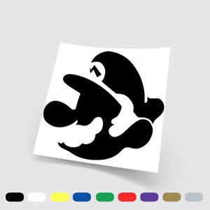 24 Parete Auto Adesivi in vinile Wall Stickers Prespaziati Super Mario Bros