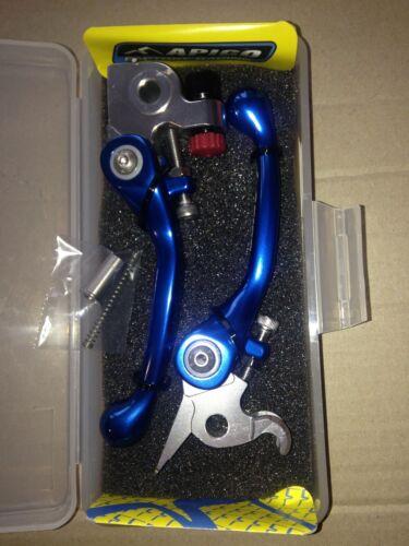 KTM  SXF450  SXF 450  SX450F   2013   FLEXI FLEXIBLE LEVER LEVERS SET BLUE